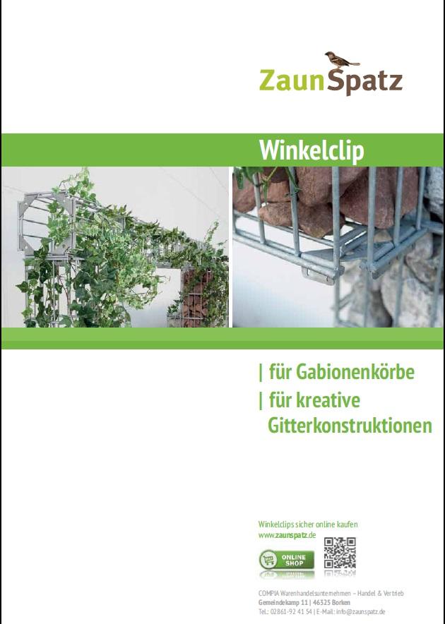 Katalog-Winkelclip